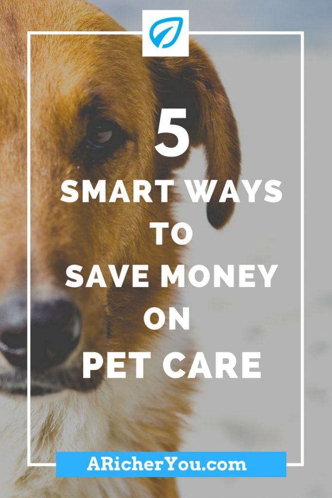 Pinterest - 5 Smart Ways to Save Money On Pet Care