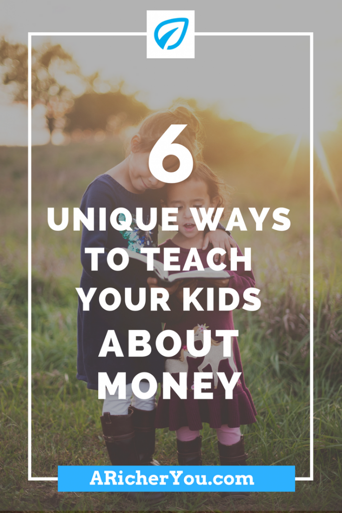 Pinterest - 6 Unique Ways to Teach your Kids About Money