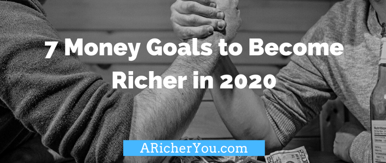 7 Money Goals to Become Richer in 2020 + $20 Giveaway!